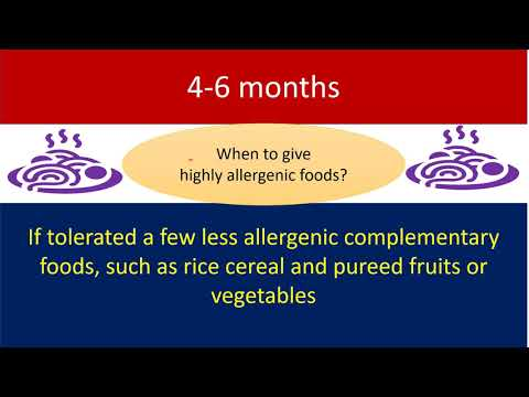 Introduction of Solid Foods-What is New?