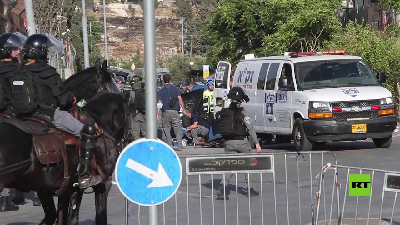 إصابة 6 جنود إسرائيليين بعملية دهس في حي الشيخ جراح بالقدس  - نشر قبل 7 ساعة