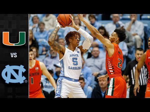 miami-vs.-north-carolina-men's-basketball-highlights-(2019-20)