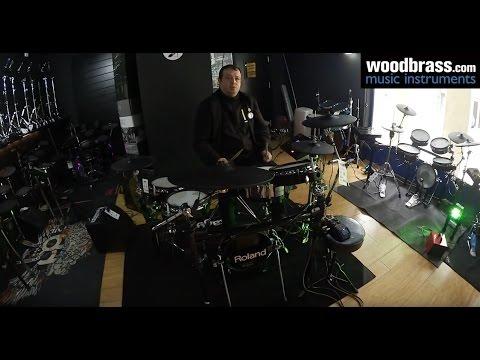 Test Woodbrass : Roland V-Drums TD-50K