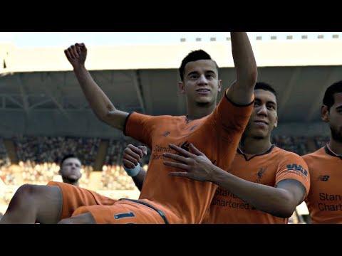 FIFA 18 Gameplay   Newcastle United vs Liverpool - Premier League Sim