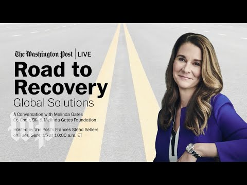 Melinda Gates on public health and economic solutions (Full Stream 9/15)