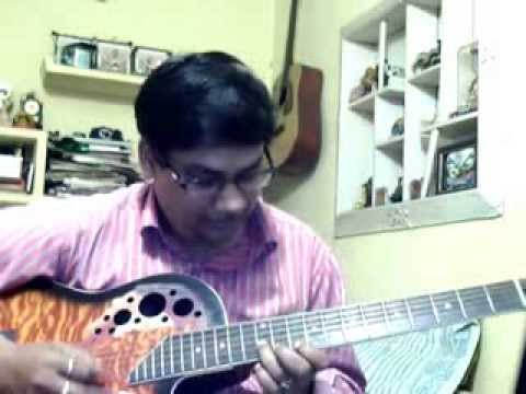 Na re na ar to pare na solo on Guitar - YouTube