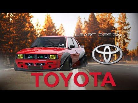 Wide Body Toyota Corolla DX Virtual Tuning Photoshop