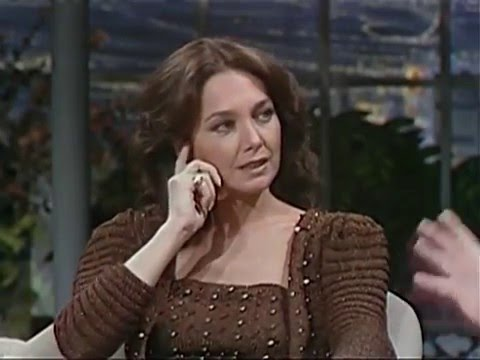 Suzanne Pleshette on The Tonight  with Johnny Carson 1981
