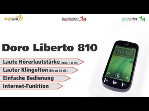 Smartphone für Senioren Doro Liberto 810