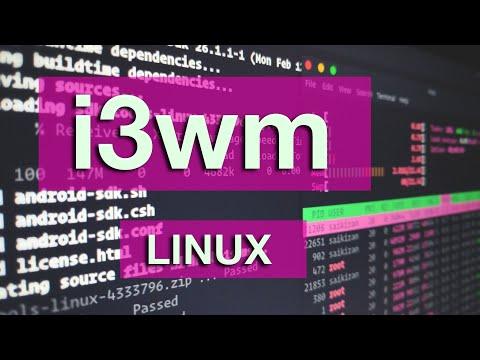 I3wm. Лучший оконный менеджер для Linux. Тайлинговый менеджер. Настройка Polybar.