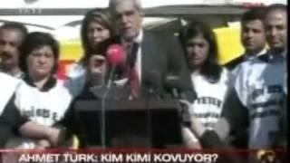 DTP Genel Baskani Ahmet Türk ya sev ya terket diyen Erdogana neler dedi ???