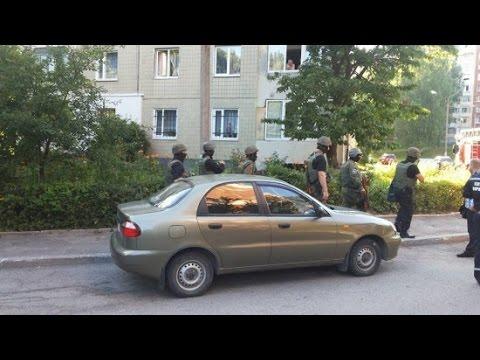 Во Львове кавказцы захватили заложников и потребовали Садового
