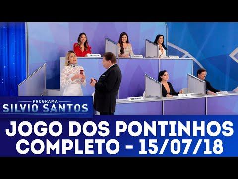 Jogo dos Pontinhos - Completo   Programa Silvio Santos (15/07/18)