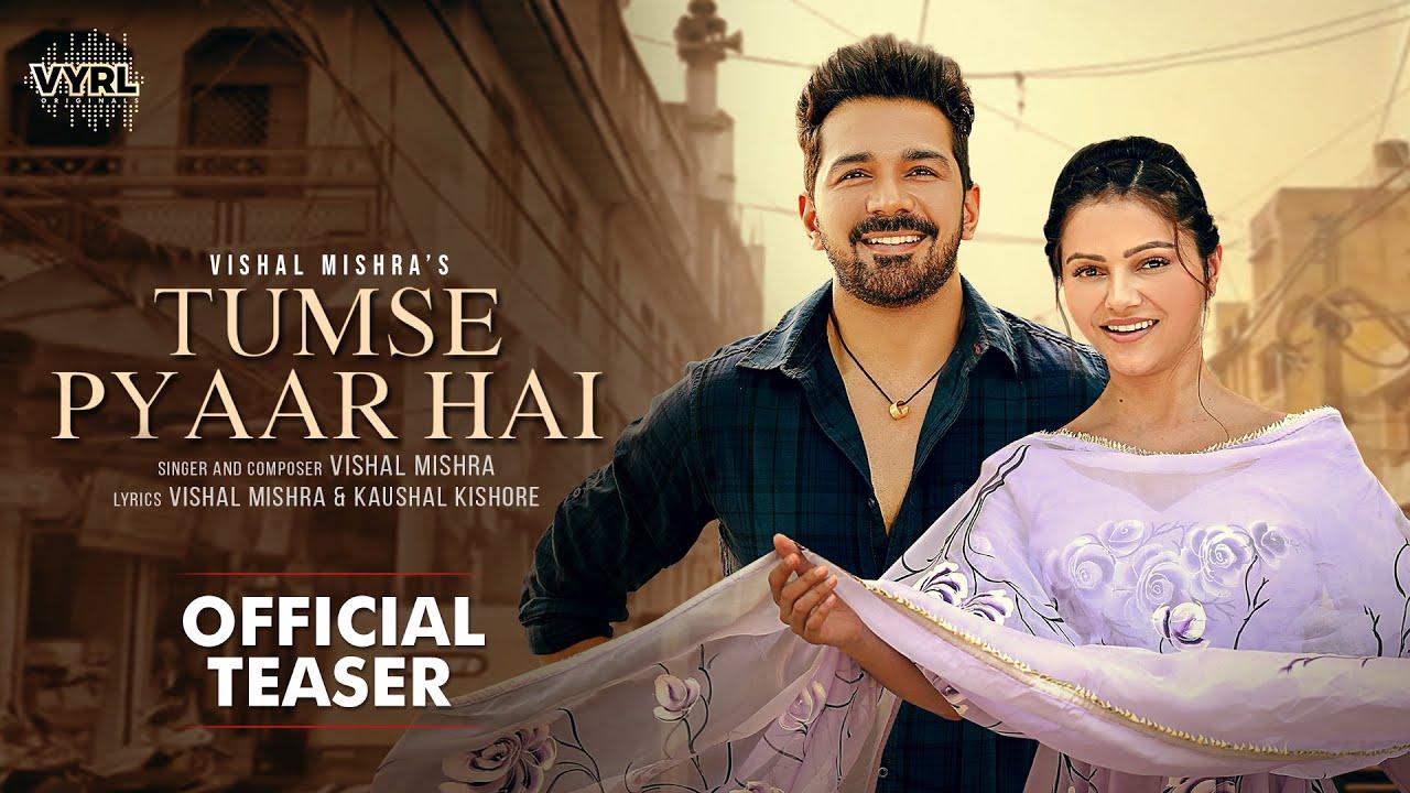 Tumse Pyaar Hai (Official Teaser) Vishal Mishra | Rubina Dilaik, Abhinav Shukla | VYRL Originals