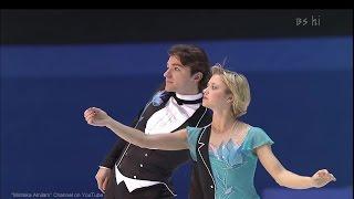 [HD] Berezhnaya & Sikharulidze Charlie Chaplin medley 2000/2001 GPF Round 1 FS  - Елена Бережная..