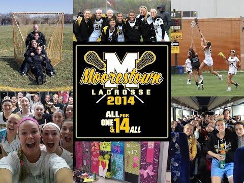 2014 Moorestown Girls Lacrosse Season Highlights