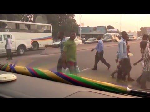 Kinshasa: De LEMBA a Gombe, via limete-Huilerie, Juin 2015