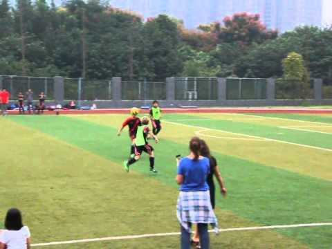Kaleb scores his first goal of the season - Chengdu 2015