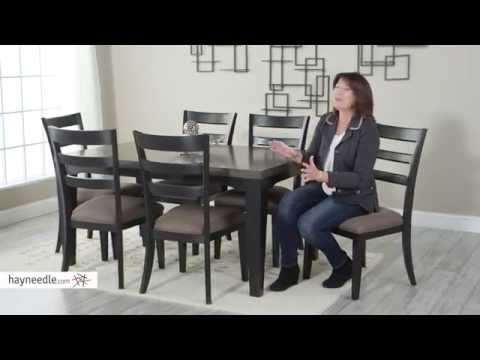 Belham Living Sheridan 7 Piece Extension Dining Room Table And Chair Set Product Review Video