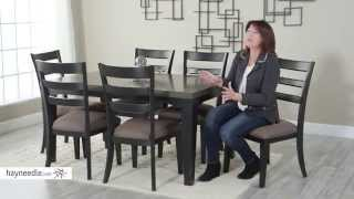Belham Living Sheridan 7 Piece Extension Dining Room Table and Chair Set - Product Review Video