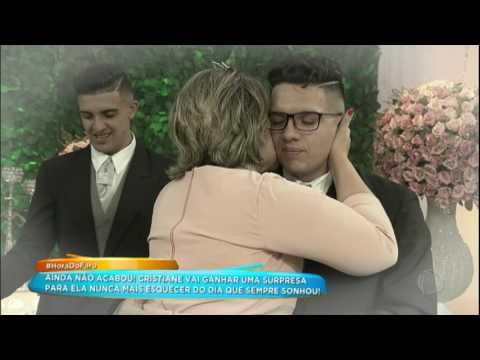 Cristiane Venceu Duas Lutas Contra O Câncer E Ganha Festa Especial De Casamento