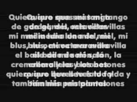 Melendi - tu jardín con enanitos (Letra) - YouTube