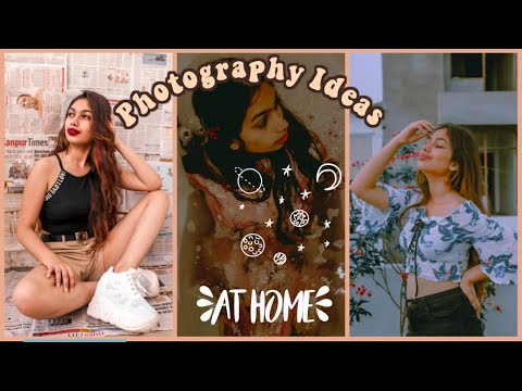 Easy At Home Quarantine Photography Ideas Quarantine Photoshoot Challenge Indian Youtube