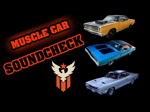 AMERICAN MUSCLE CARS - EXHAUST SOUNDS - YouTube