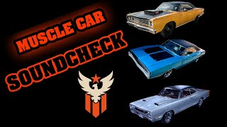 AMERICAN MUSCLE CARS - EXHAUST SOUNDS