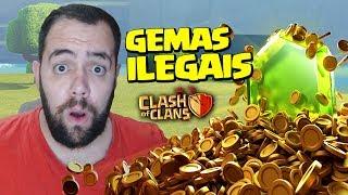 COMPRA DE GEMAS ILEGAIS NO CLASH OF CLANS