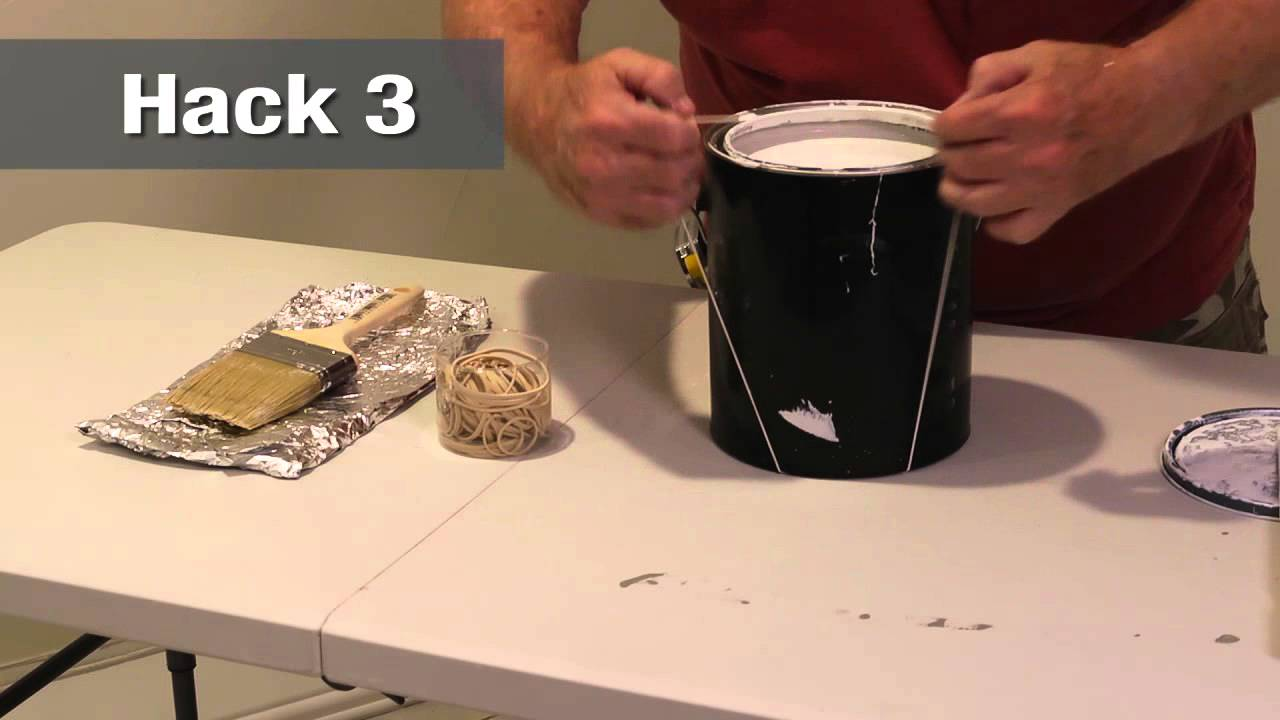 Painting Hacks Home Hack YouTube - Painting hacks
