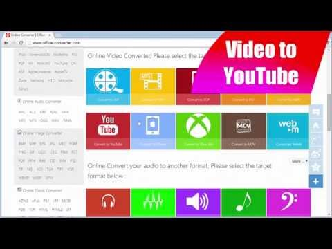 How to Convert Video to YouTube using Office-Converter.com