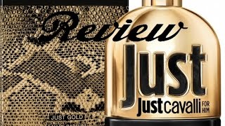 Roberto Cavalli Just Gold for Him (2014) Review | Hidden Gems Series
