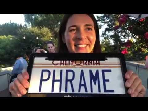Phrame Smart License Plate Frame At TechCrunch August Capital Party