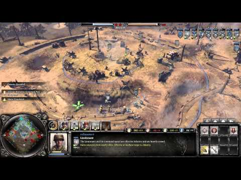 Company Of Heroes 2 : The Western Front Armies 3v3 Multiplayer Gameplay - US Forces Pro Strategies