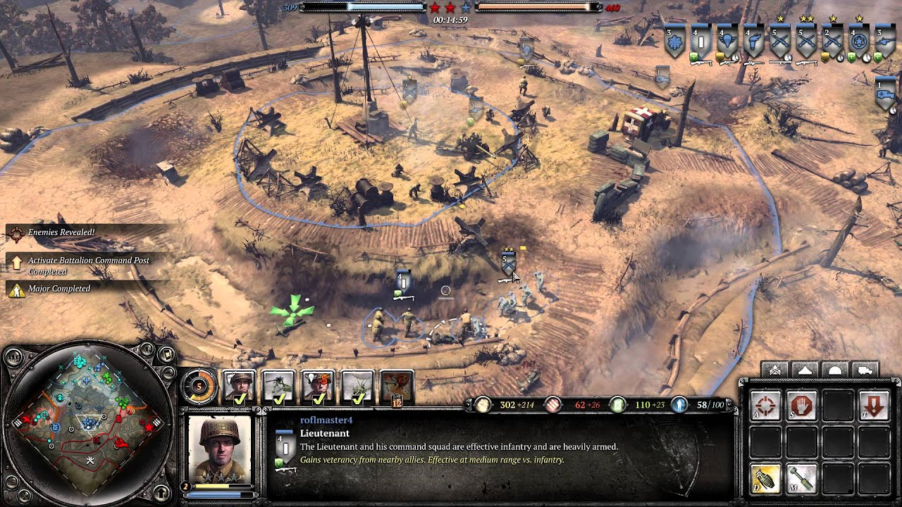 how to play us company of heroes 2