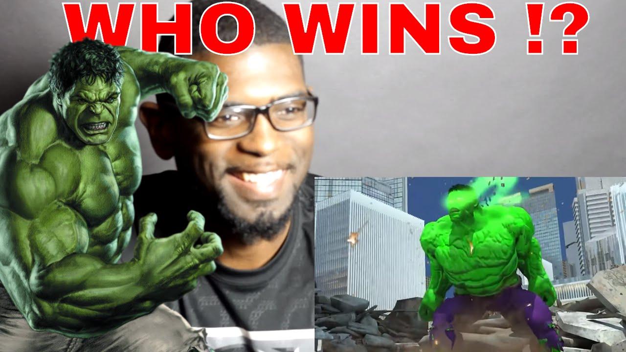 HULK VS DOOMSDAY DEATH BATTLE FIGHT REACTION !! - YouTube Doomsday Vs Hulk Death Battle Reaction