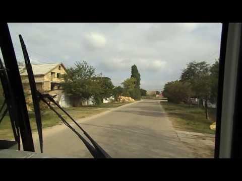 Поездка на рейсовом автобусе №8 Заозёрное-Евпатория