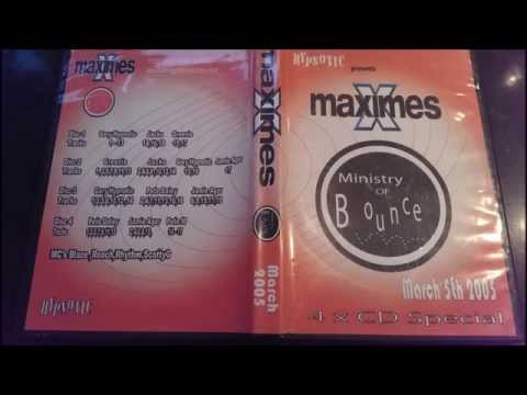 Maximes Ministry of Bounce March 5th 2005 cd 3