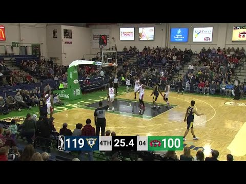 Tra-Deon Hollins (4 points) Highlights vs. Maine Red Claws
