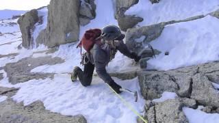 Glen Plake climbing Mont Blanc du Tacul