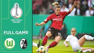 VfL Wolfsburg vs. SC Freiburg 1-0 | Full Game | Women's DFB Cup 2018/19 | Final