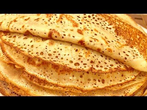 Ажурные домашние блинчики - Вкуснейший рецепт. Кружевные и нежные