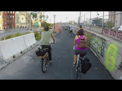 NYC Bike Lanes Reviewed: Manhattan Bridge
