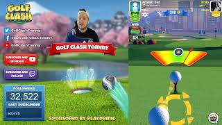 Golf Clash tips, Hole 5 - Par 5, Maple Bay -  Winter Major Tournament - ROOKIE Guide