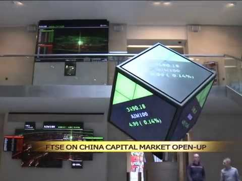 FTSE Director says China capital market open-up is important