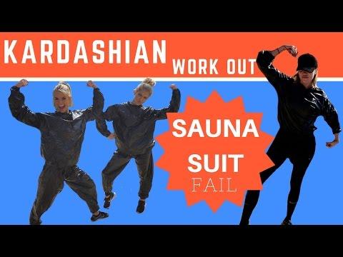e4485a5759 Kardashian Work Out - Sauna Suit Fail with Jessica Carroll