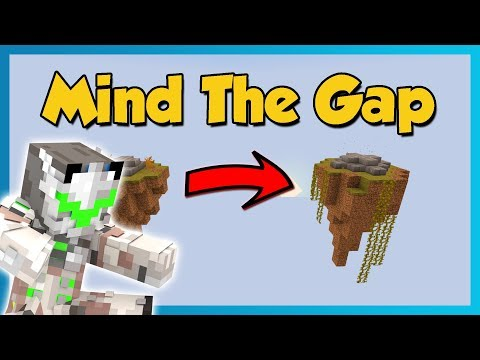 WHAT DO I DO!? - Mind the Gap Minecraft Puzzle Map!