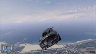 【GTA5】重力軽減して門バグ!超吹っ飛ぶ!! thumbnail