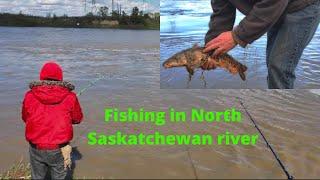 fishing in north Saskatchewan river Edmonton storytelling