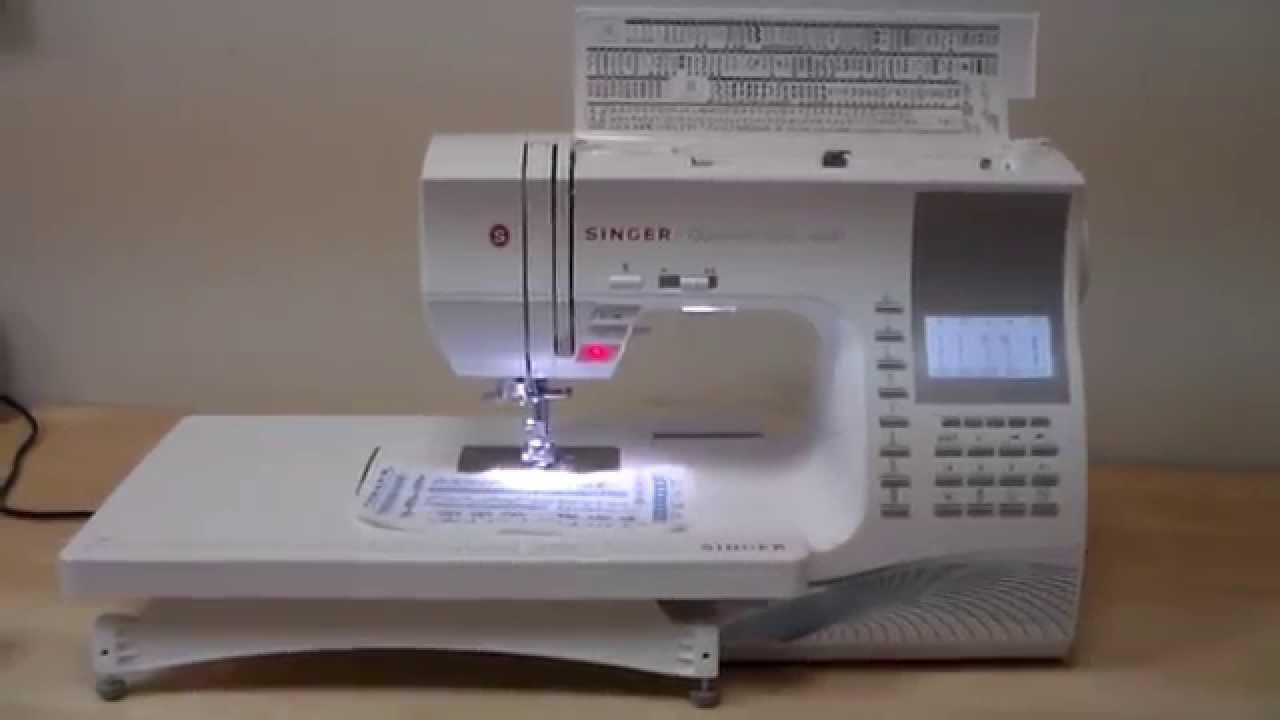 Швейная машинка SINGER. Мокасины своими руками. - YouTube