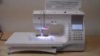 SINGER Quantum Stylist 9960 видео обзор(SINGER Quantum Stylist 9960 - компьютеризированная швейная машинка элитного класса для увлекающихся шитьем и декором..., 2014-08-07T19:40:30.000Z)