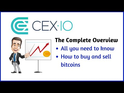 👩‍🏫CEX.IO Review | The Complete Walk-through | How To Buy Bitcoins